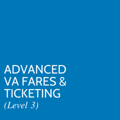 Advanced VA Fares & Ticketing