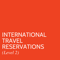 International Travel Reservations