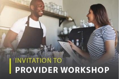 Provider Workshop RSVP